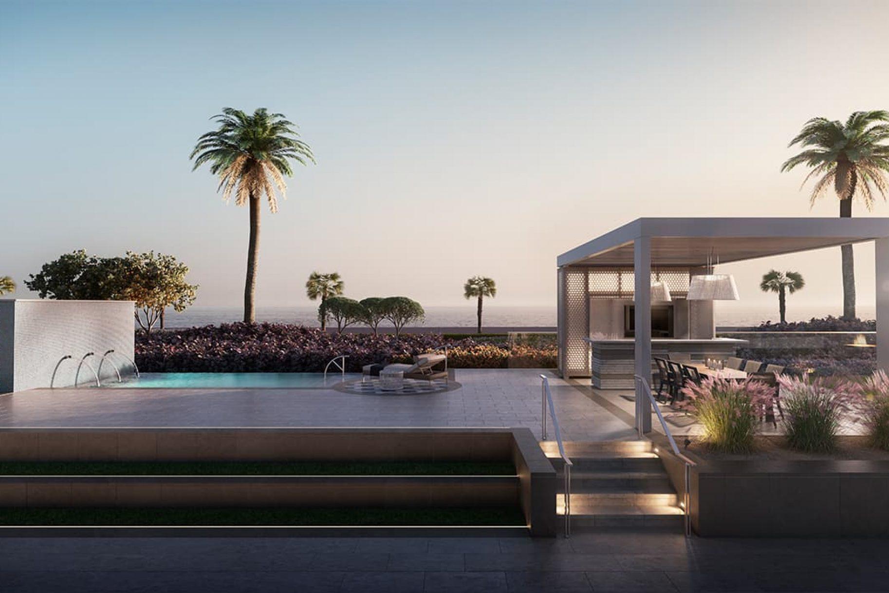 A luxury garden residence on the Palm Jumeirah, Dubai