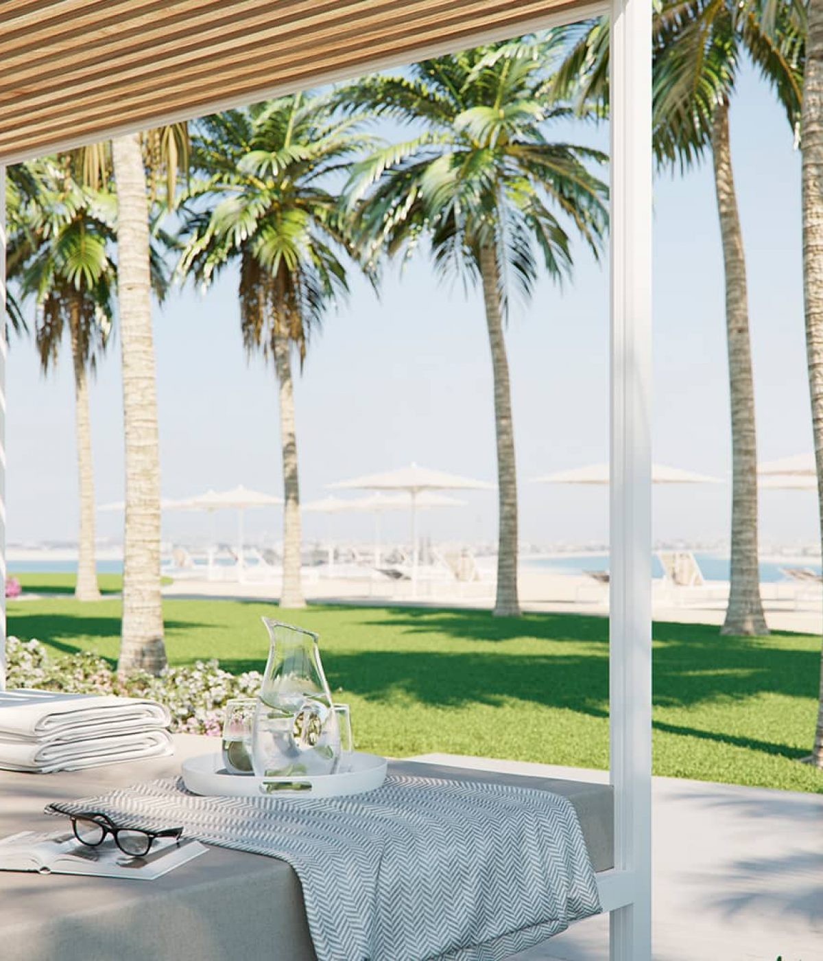 A luxury garden residence on the Palm Jumeirah, Dubai