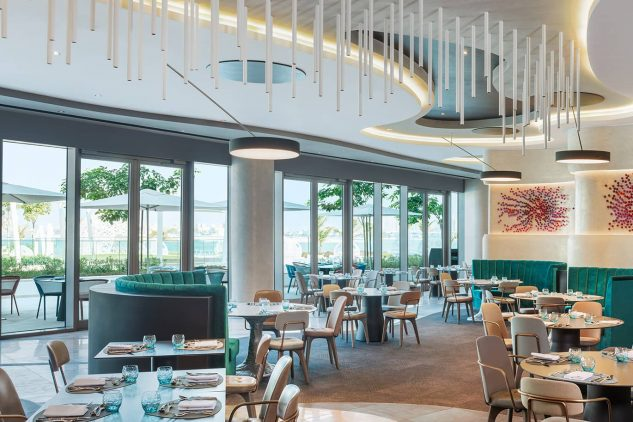 DXBTP restaurant at the W Residences Palm Jumeirah, Dubai