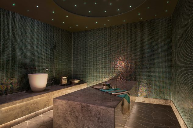 A spa at the W Residences apartments Palm Jumeirah